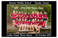 SMS 2011-2012 Dance Team (INDIAN CREEK PHOTO SHOOT)