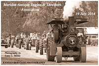 38TH ANNUAL MERIDEN THRESHING SHOW (2014)
