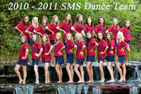 SMS Indian Creek Dance Team 2010 Photo Shoot